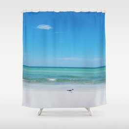 Honeymoon Island Shower Curtain