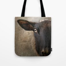 In a sheep's eye Tote Bag