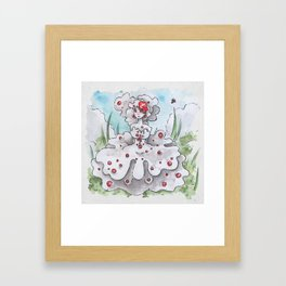 Empire of Mushrooms: Hydnellum peckii Framed Art Print