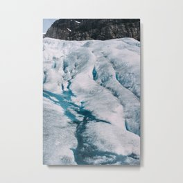 Nigardsbreen Glacier, Norway Metal Print