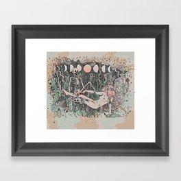 In the Stars Framed Art Print