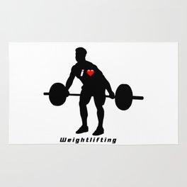 I love weightlifting Rug
