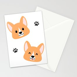 Lots of Corgis! Stationery Cards