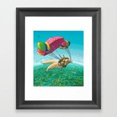 PARACHUTE Framed Art Print