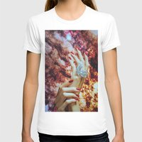 hands T-shirts featuring Hands by John Turck