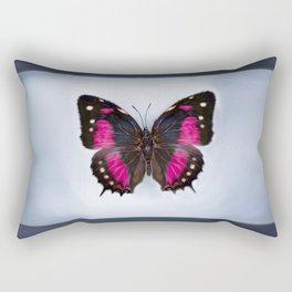 Digital Paint (Butterfly in Frame) Rectangular Pillow