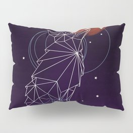 Fox in the Stars Pillow Sham