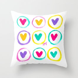 We Are Made of Colours Throw Pillow