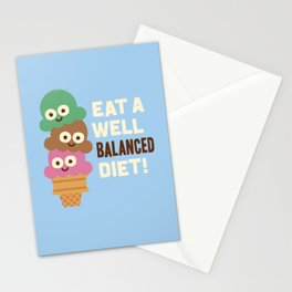 Coneventional Wisdom Stationery Cards