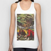 forrest Tank Tops featuring Forrest People by Chris Minielly