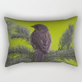 Feathered Friend Rectangular Pillow