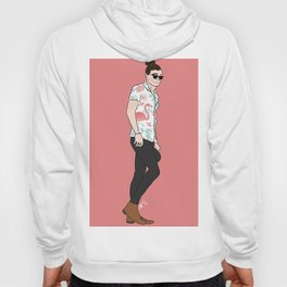Flamingo Harry Hoody