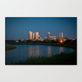 Fort Worth, Texas Canvas Print