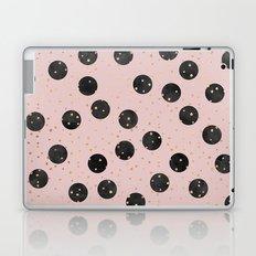 Black Dots Laptop & iPad Skin