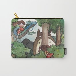 Studio Ghibli Crossover Carry-All Pouch