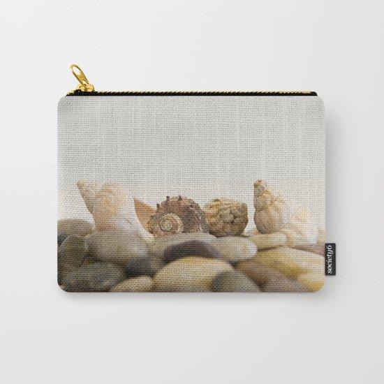 Seashells & Stones #1 #decor #art #society6 Carry-All Pouch