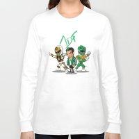 power rangers Long Sleeve T-shirts featuring Power Rangers Legacy: Jason David Frank by HWM Designs