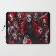 Jason Voorhees Friday the 13th Many faces of Laptop Sleeve