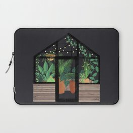 Greenhouse at Night Laptop Sleeve