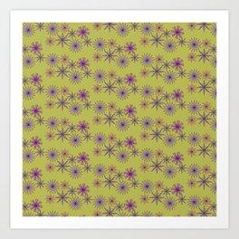 Jolene yellow Art Print