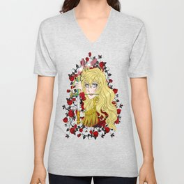 Lady Oscar Unisex V-Neck