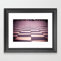 Twin Peaks Everywhere Framed Art Print