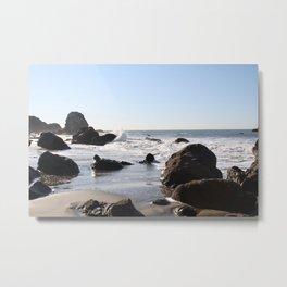 Ocean Beach - Wild Veda Metal Print