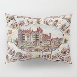Vintage poster - Traveling Salesmen of America Pillow Sham