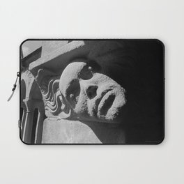 Face from Iona Abbey Laptop Sleeve