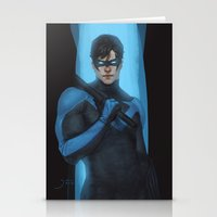nightwing Stationery Cards featuring Nightwing by Guilherme Prieto