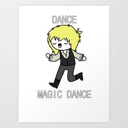 Magic Dance Art Print