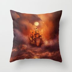 Perfect storm. Throw Pillow