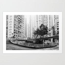 Central, Hong Kong Art Print