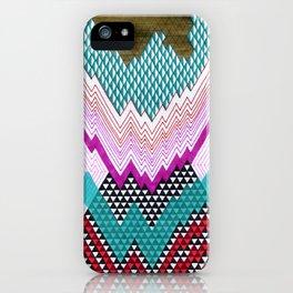 Isometric Harlequin #5 iPhone Case