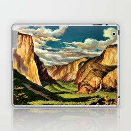Yosemite National Park - Vintage Travel Laptop & iPad Skin