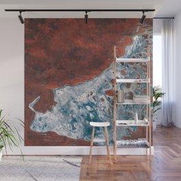 Lake Mackay salt lake Western Australia Wall Mural