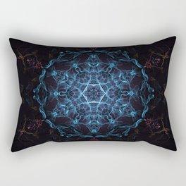 Stargate Mandala Rectangular Pillow