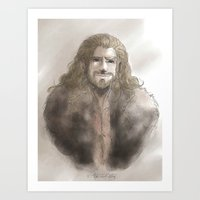 fili Art Prints featuring Fili  by ScottyTheCat