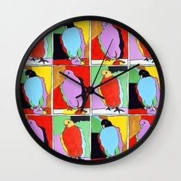 Three Pigeons Wall Clock