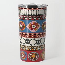 Aztec background Travel Mug
