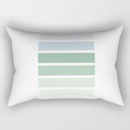 Colour Pallet - Cool Green Rectangular Pillow
