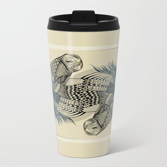 American Pharoah (Ace) Metal Travel Mug