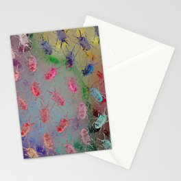 shiny stag beetles Stationery Cards