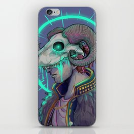 Anders and Justice iPhone Skin