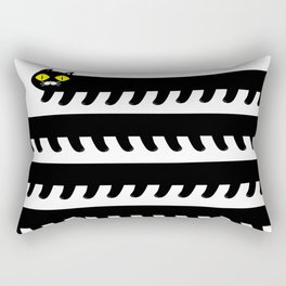 Cryptid Long Cat Rectangular Pillow