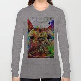French Bulldog Grunge Long Sleeve T-shirt