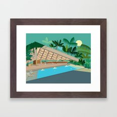 That Jackie Treehorn Home! Framed Art Print