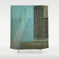 aquarius Shower Curtains featuring Aquarius by Fernando Vieira