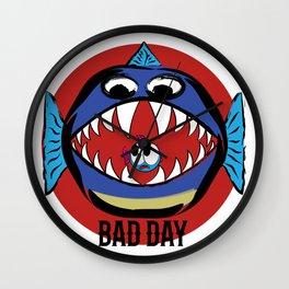 Bad Day Fish Wall Clock