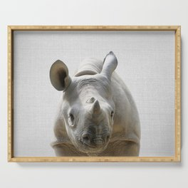 Baby Rhino - Colorful Serving Tray